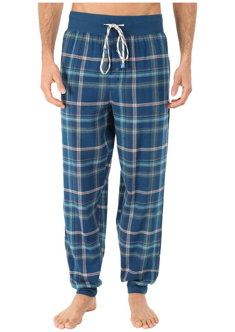 Original Penguin Cuff Flannel Pants