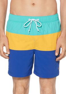 Original Penguin Daddy Color-Block Swim Shorts