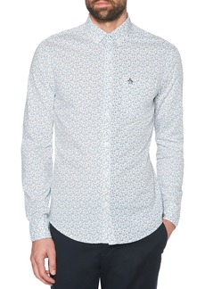 Original Penguin Ditsy Floral Slim Fit Sport Shirt