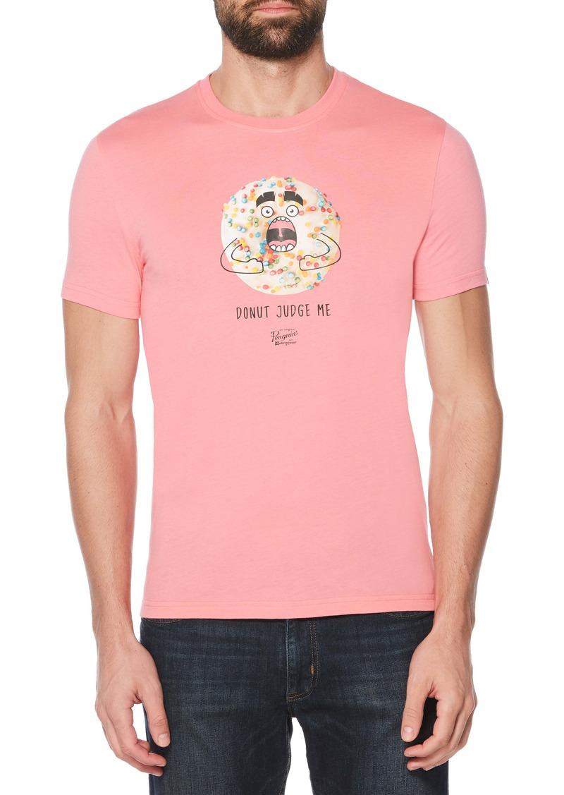 Original Penguin Donut Judge Me Graphic T-Shirt