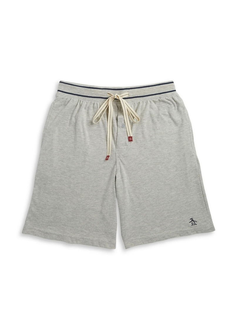 ORIGINAL PENGUIN Drawstring Sleep Shorts