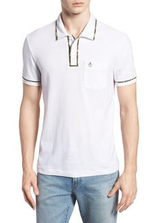 Original Penguin Earl Camo Trim Polo