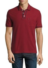 Original Penguin Earl Contrast-Trim Cotton Polo Shirt