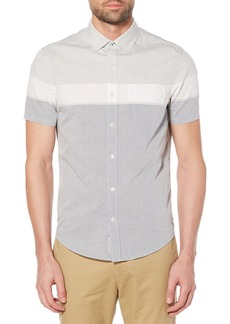 Original Penguin Engineered Stripe Woven Shirt