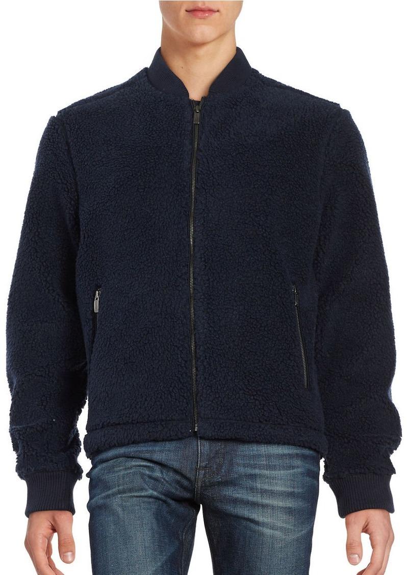 ORIGINAL PENGUIN Fleece Bomber Jacket