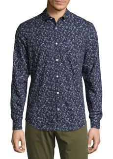 Original Penguin Floral Cotton Casual Button-Down Shirt