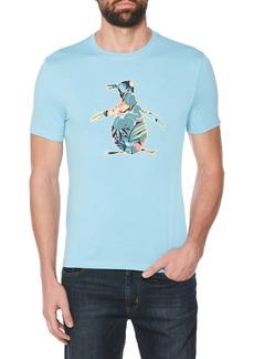 Original Penguin Floral Fill Pete Appliqué T-Shirt