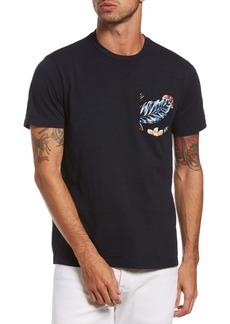 Original Penguin Floral Pocket T-Shirt