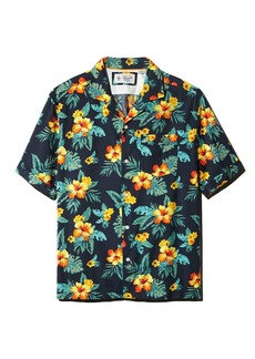 Original Penguin Floral-Print Regular Fit Shirt - 100% Exclusive