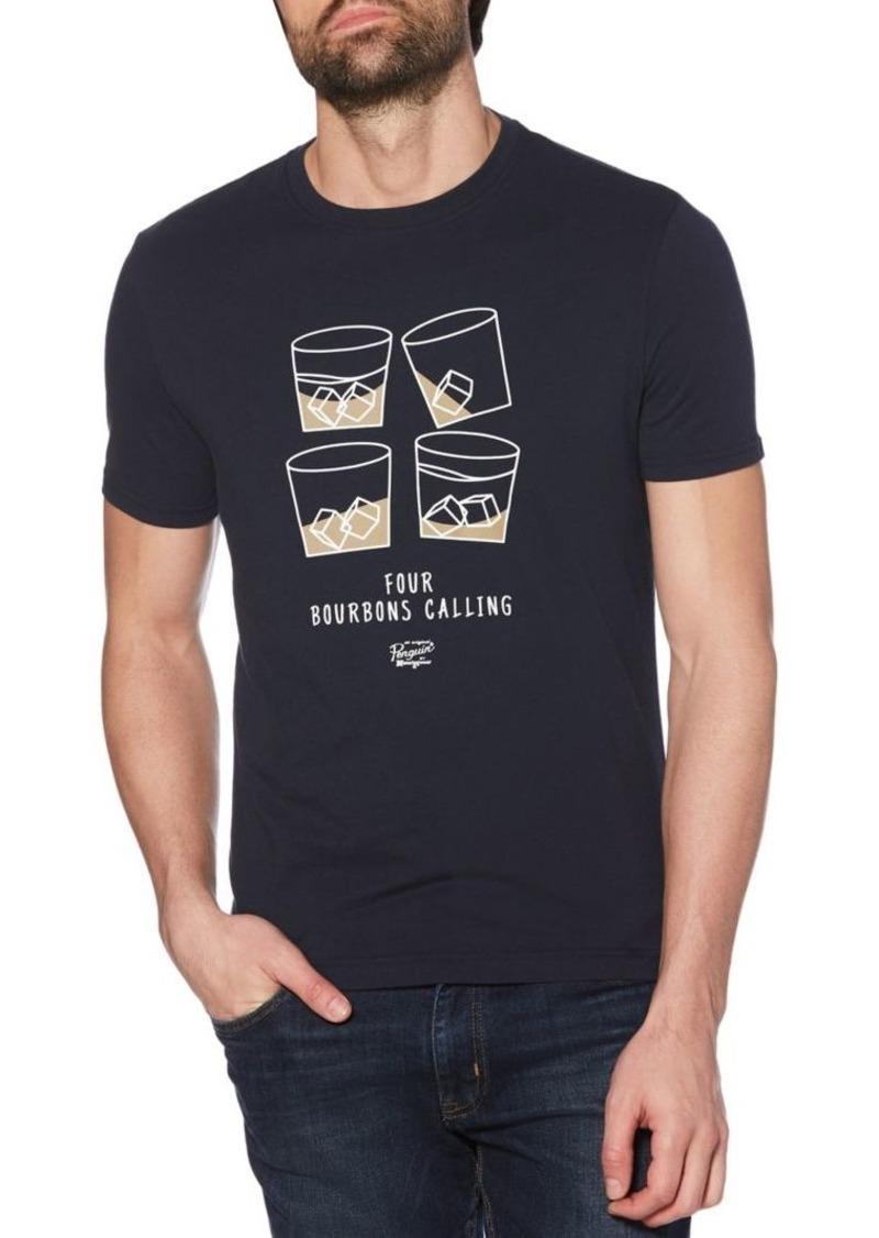 Original Penguin Four Bourbons Graphic Cotton Tee