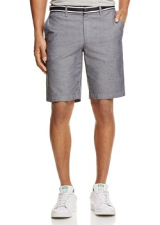 Original Penguin Grosgrain Trim Oxford Shorts