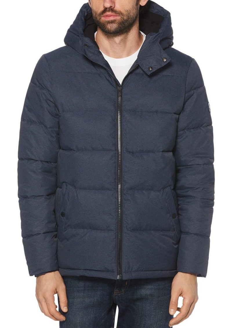 Original Penguin Heathered Slim Fit Puffer Jacket - 100% Exclusive