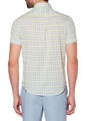 Original Penguin Heritage Slim Fit Stretch Plaid Shirt