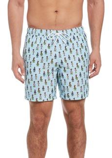 Original Penguin Hula Swim Trunks