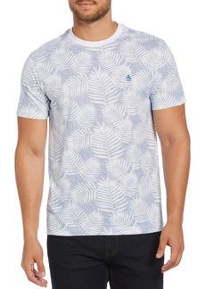 Original Penguin Leaf Print T-Shirt