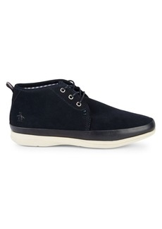 Original Penguin Leather Lace-Up Sneakers