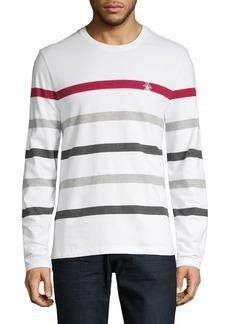Original Penguin Long-Sleeve Block Stripe Sweater