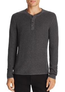 Original Penguin Long Sleeve Waffle Henley - 100% Exclusive