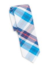 Original Penguin Master Plaid Cotton Tie