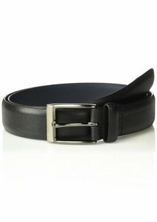 Original Penguin Men's 32mm Saffiano Leather Belt