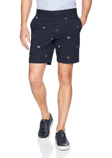 Original Penguin Men's 8' Inseam Embroidered Short