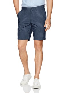 "Original Penguin Men's 9"" Poplin Cross Hatch Short"