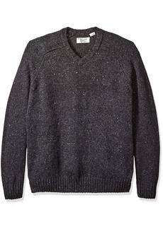 Original Penguin Men's Big and Raglan Donegal Sweater