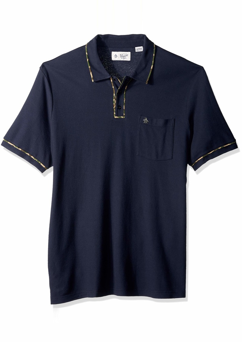 Original Penguin Men's Big and Tall The Earl Polo  2XL