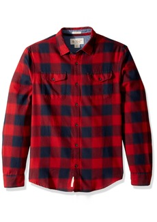 Original Penguin Men's Buffalo Plaid Brushed Shirt