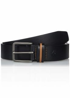 Original Penguin Men's Color Keeper Leather Belt black