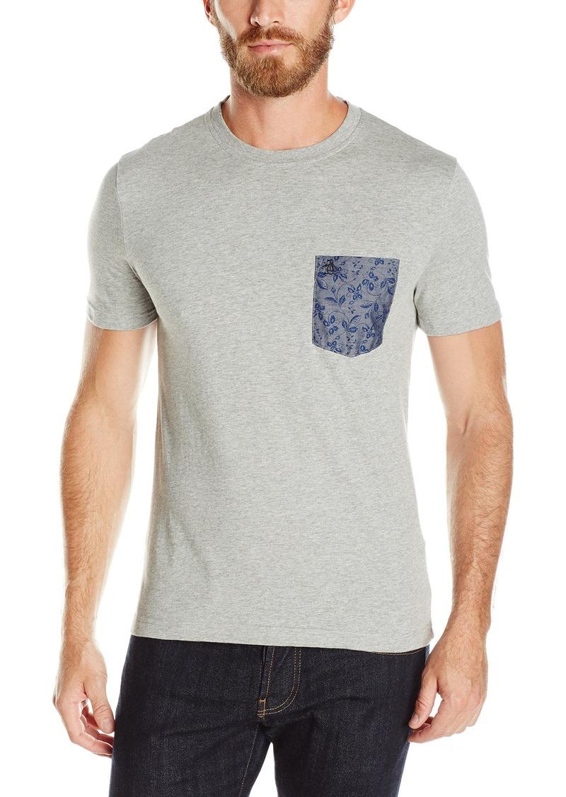 Original Penguin Men's Contrast Pocket Short Sleeve T-Shirt