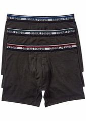 Original Penguin Men's Cotton Stretch Boxer Brief Underwear Multipack  S