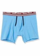Original Penguin mens Original Penguin Men's Cotton Stretch Underwear Multipack Boxer Briefs Sky Captain Blue Azure Blue White Pennant  US
