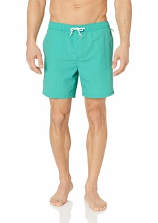 Original Penguin Men's Daddy Elastic Waist Swim Short  L