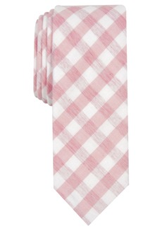 Original Penguin Men's Dorian Skinny Check Tie