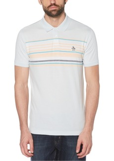 Original Penguin Men's Enigneered Stripe Polo Shirt