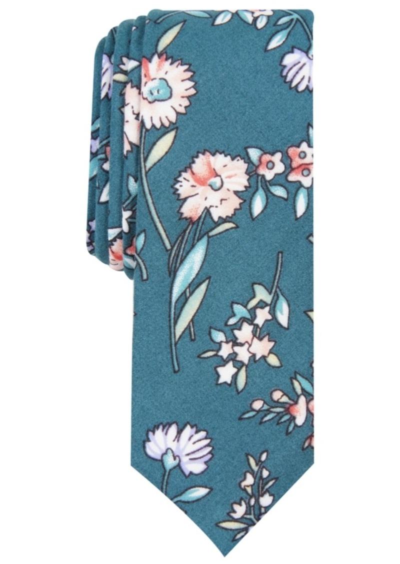 Original Penguin Men's Ernest Skinny Floral Tie