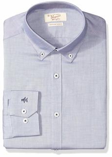 ORIGINAL PENGUIN Men's Essential Slim Fit Button Down Collar Dress Shirt  15.5 32/33