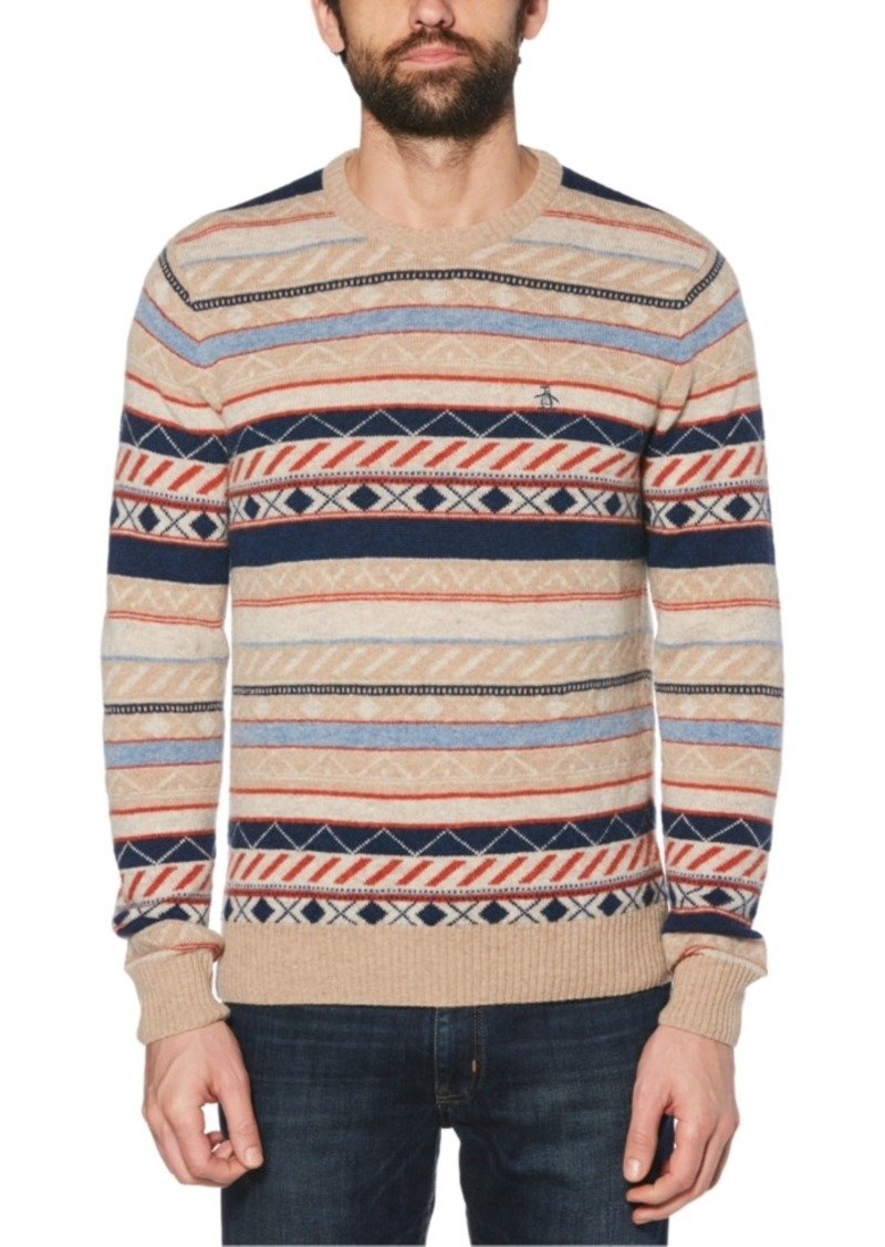 Original Penguin Men's Fair Isle Sweater