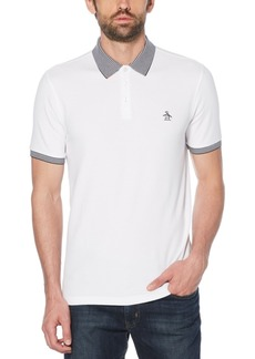 Original Penguin Men's Fashion Collar Pique Polo Shirt