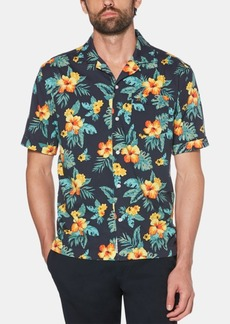Original Penguin Men's Floral Graphic Shirt