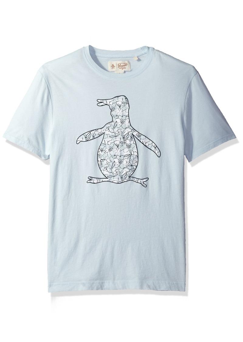 Original Penguin Mens Short Sleeve Graphic Tee