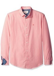 Original Penguin Men's Gingham Long Sleeve Shirt  S