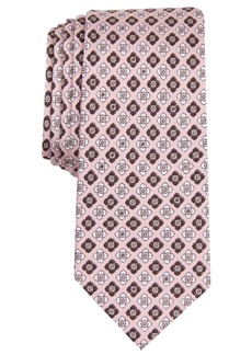 Original Penguin Men's Glover Neat Printed Silk Skinny Tie
