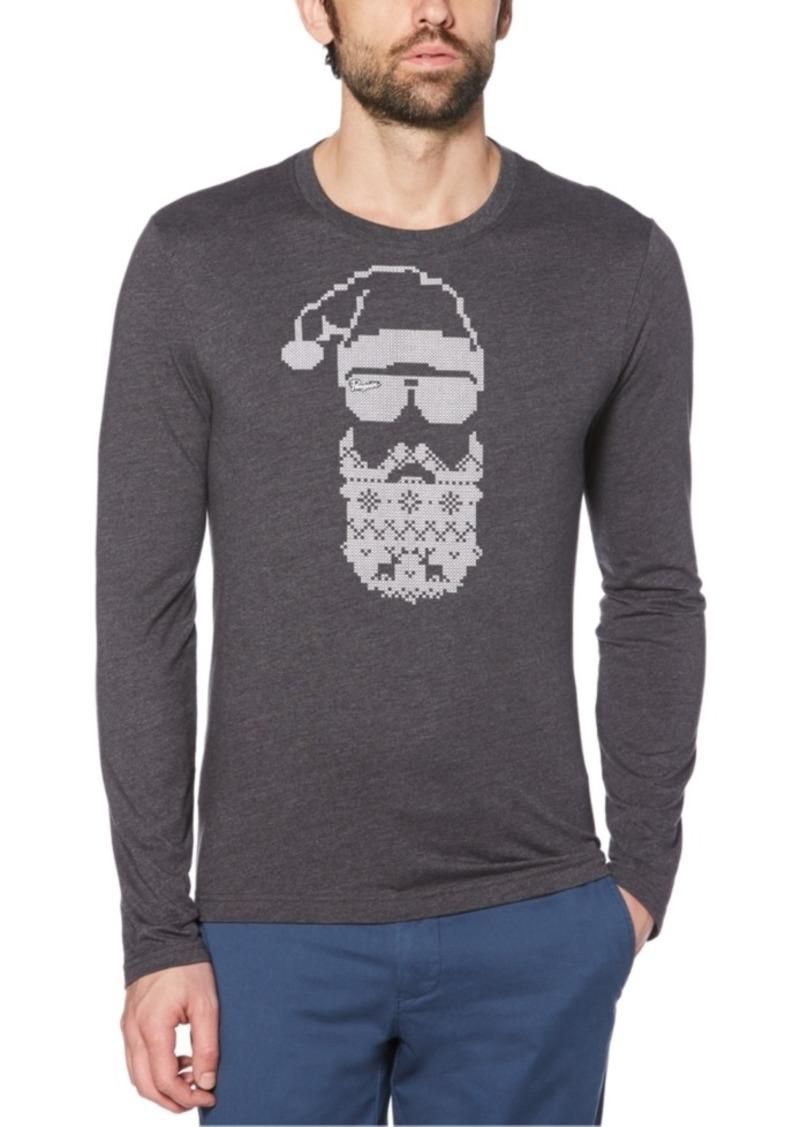 Original Penguin Men's Graphic Long-Sleeve T-Shirt
