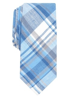 Original Penguin Men's Hanna Plaid Skinny Linen Tie