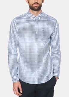 Original Penguin Men's Heathered Gingham Shirt