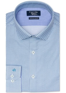 Original Penguin Men's Heritage Slim-Fit Stretch X Check Dress Shirt