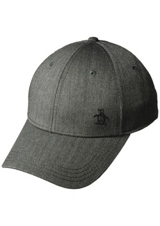 Original Penguin Men's Herringbone A-Flex Baseball Cap  S-M