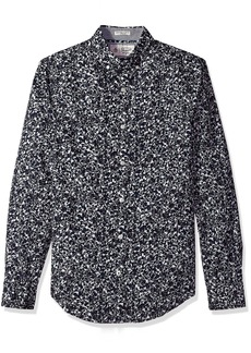 Original Penguin Men's Integrated Floral Dress Shirt